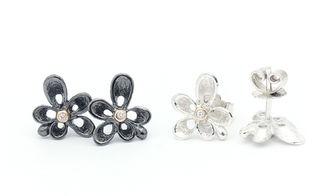 Per Borup Design silver ørestikker