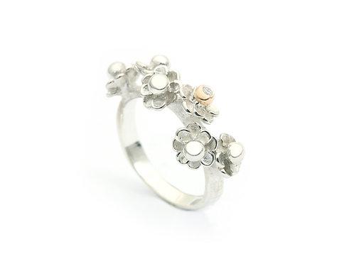 Happy Flower ring