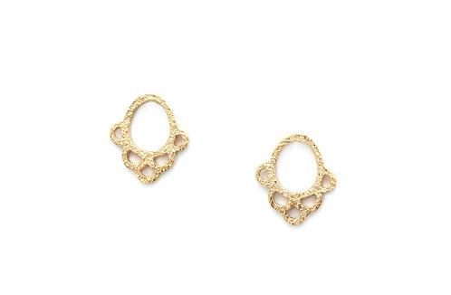 Ella earrings (Rustic)