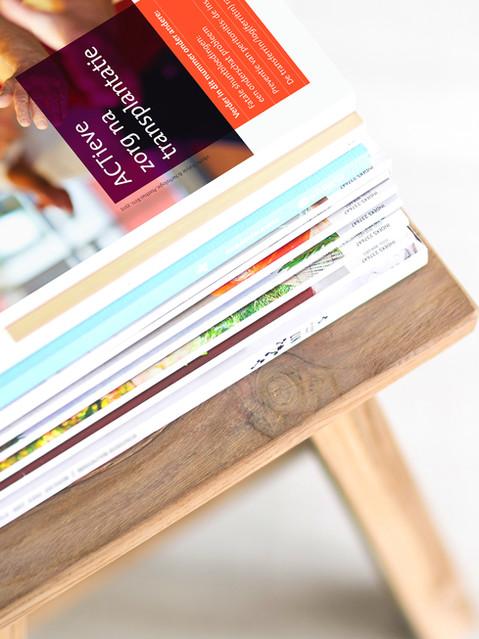 Stapel magazines