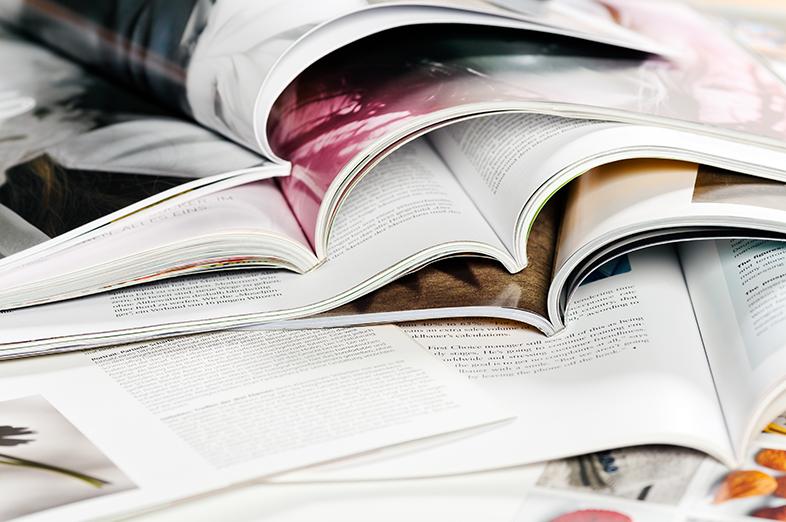 DTP-er magazines en periodieken