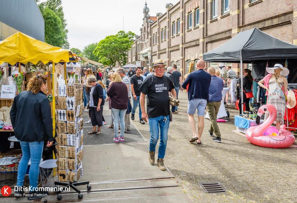 Vlaar terrein en onze markt meesters Ben en Maarten #BouleVaart 2018
