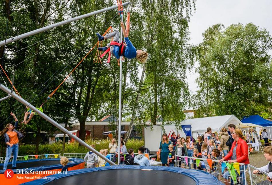 Bungee trampoline #BouleVaart 2018
