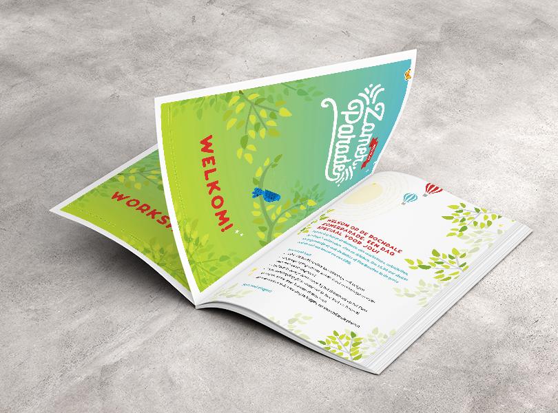 Ontwerp en opmaak Rochdale programmaboekje