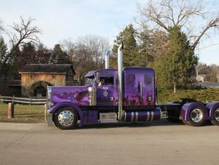 Purple Heart Tribute Truck at MATS 2016