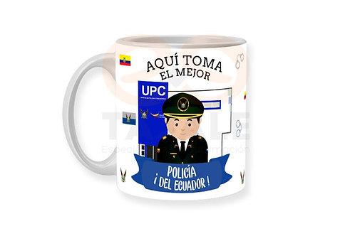 Diseño Policia Hombre - Ecuador