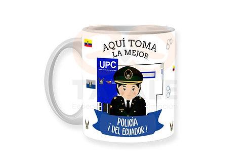 Diseño Policia Mujer - Ecuador
