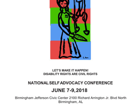 Recap of the National Self Advocacy Conference