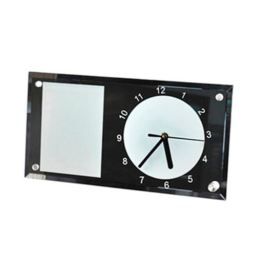 12 Relojes Portaretratos para sublimar - Medida 30x18cm