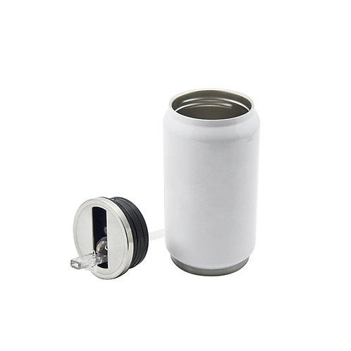 12 Latas con sorbete para sublimar - Capacidad 300ml