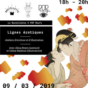 """""""Lignes érotiques"""" – POP Meufs festival 2019 – 09/03/2019"""