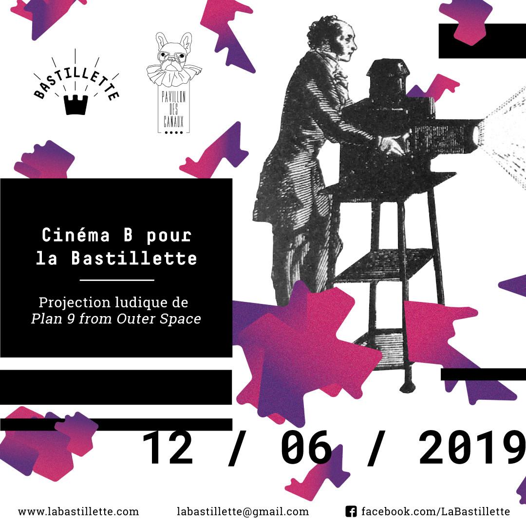 """""""Cinéma B pour la Bastillette"""" - projections - 12/05/2019"""