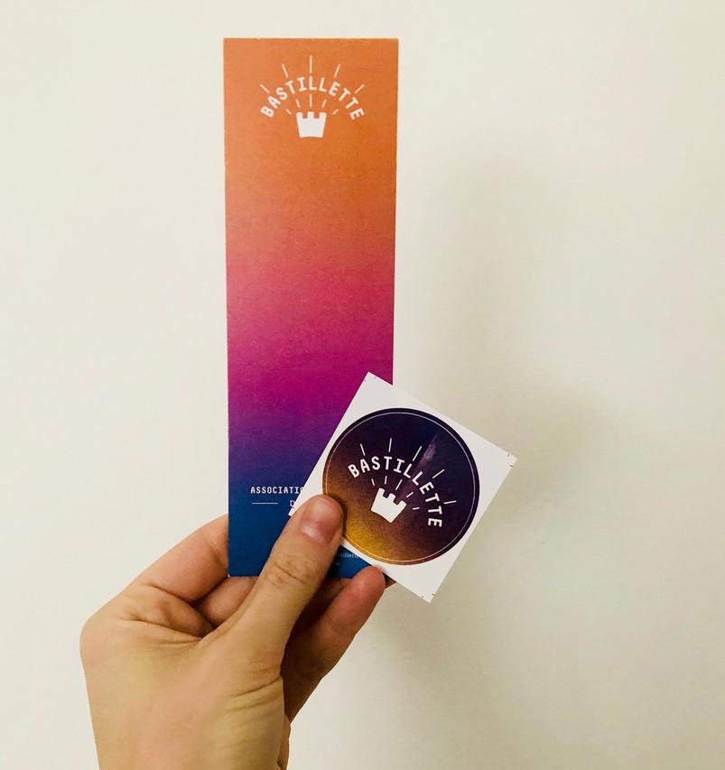 Marque-page & Sticker