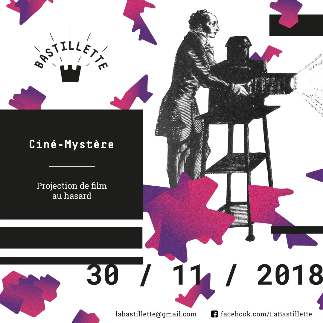 """""""Ciné-Mystère"""" – projections – 30/11/2018"""