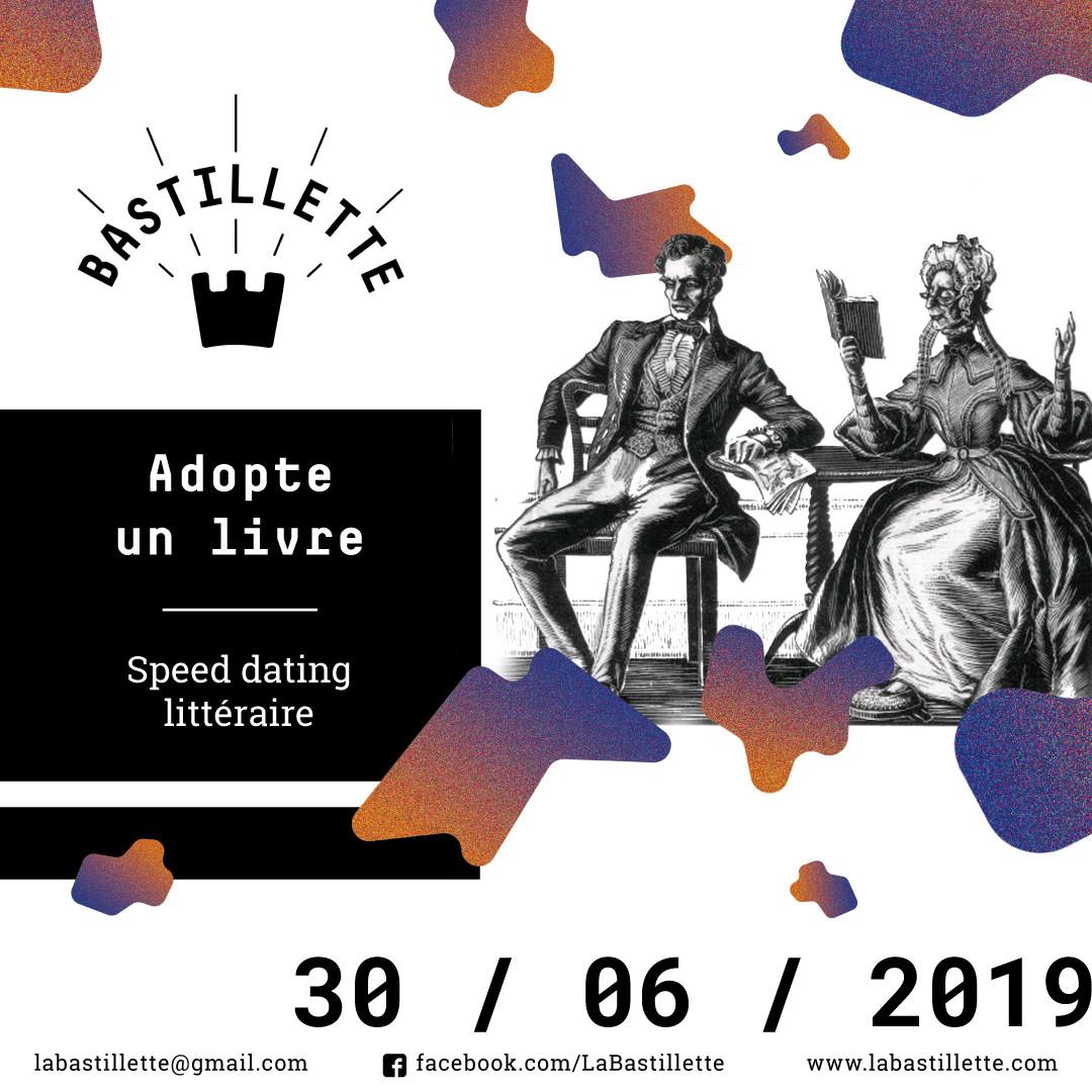 """Adopte un livre"" - speed dating littéraire - 30/06/2019"