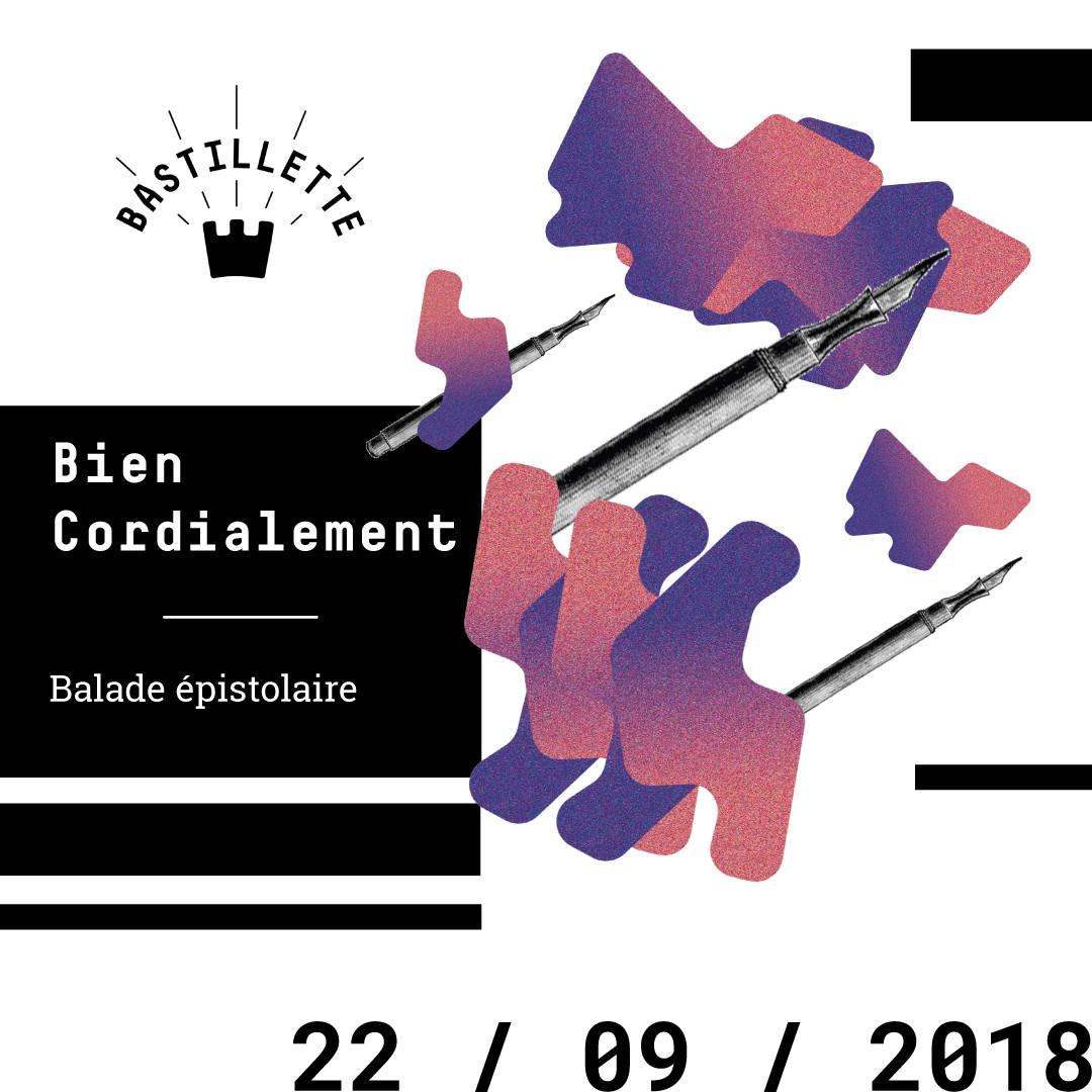 """""""Bien cordialement"""" – balades épistolaires – 22/09/2018"""