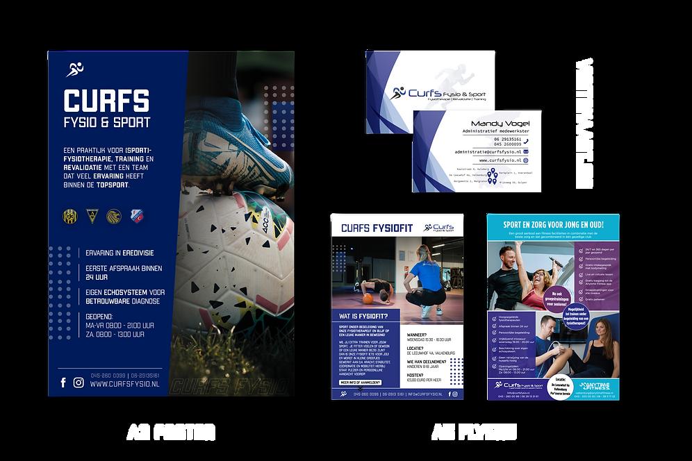 Huisstijl Curfs Fysio & Sport 2.0_Tekeng