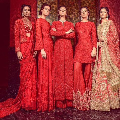 The colours for women that are in this festive season!