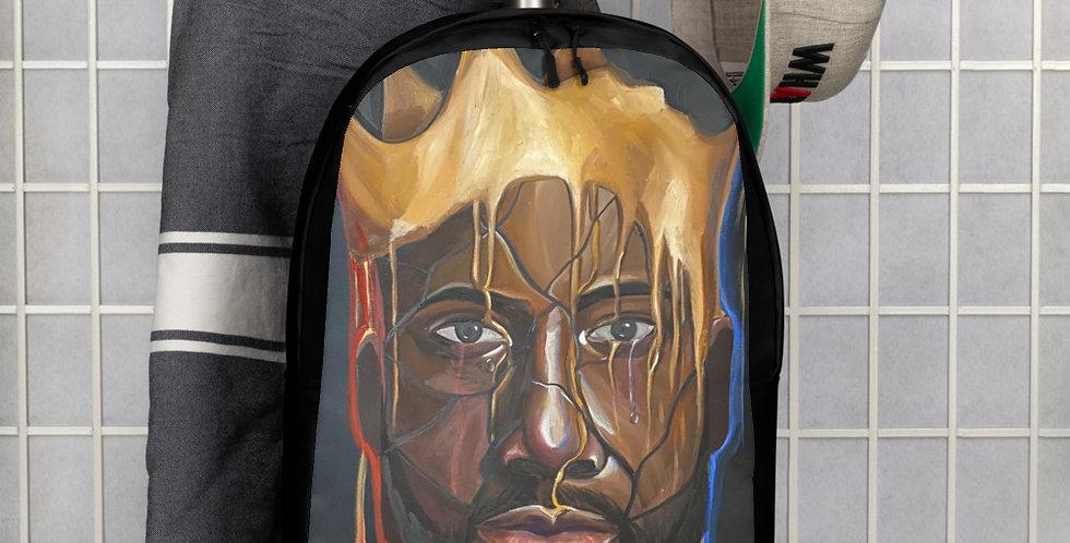 Black is King Minimalist Backpack