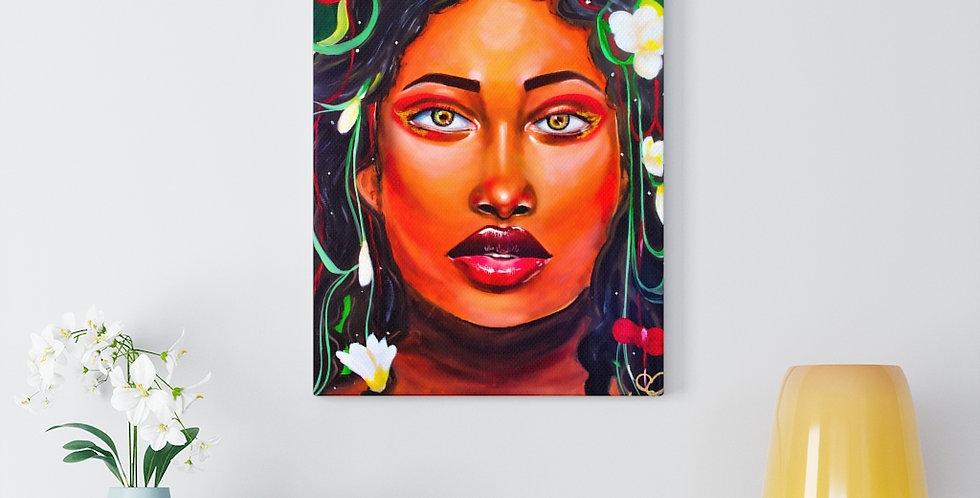 Jungle Prism Canvas Gallery Wrap