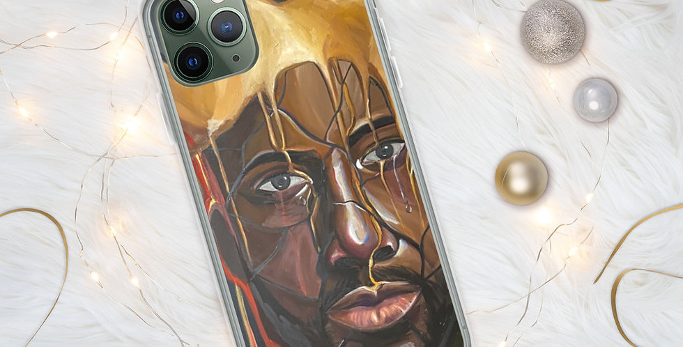 Black is King iPhone Case
