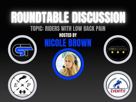 Eventing Round Table: Lower Back Pain