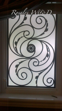 Window with Majestic Design