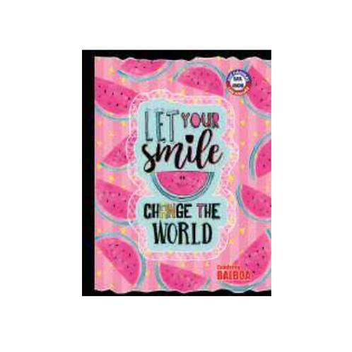 Cuaderno Cosido Colorámico Extra Grande Doble Raya, 200 páginas