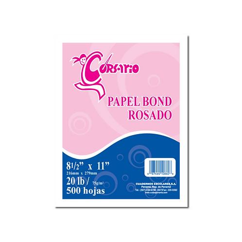 Bond Rosado 20 lbs - 500 hojas