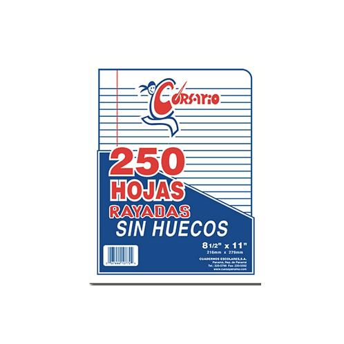 Bond Rayado sin Huecos - 250 hojas