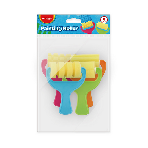 Funny Painting roller, Pack x 4 Unidades