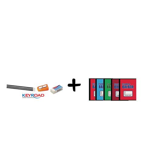 Promo: Cuadernos Balboa de Grapa + Keyroad