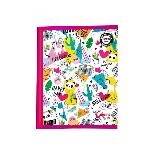 Cuaderno Corsario Plus 200 páginas Dibujo- Niña