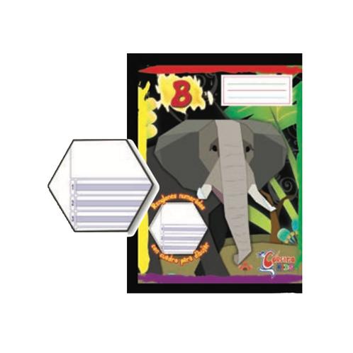 Cuaderno Cosido Corsario Kids 200 páginas- Tipo B
