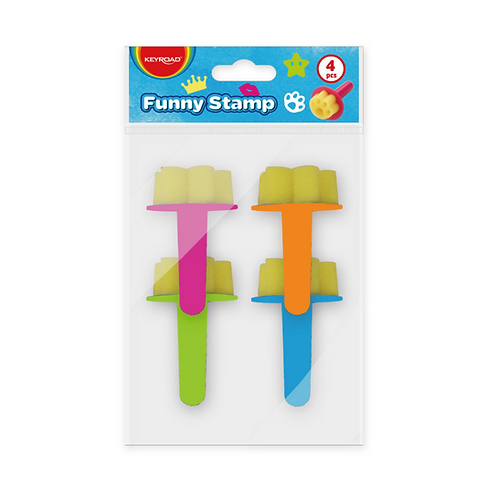 Funny Stamp, Pack x 4 Unidades