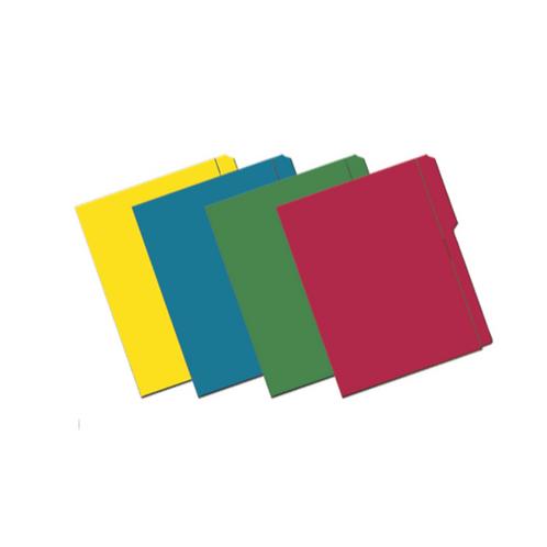 "Folder de Archivo de Colores 8.5 x 11"""