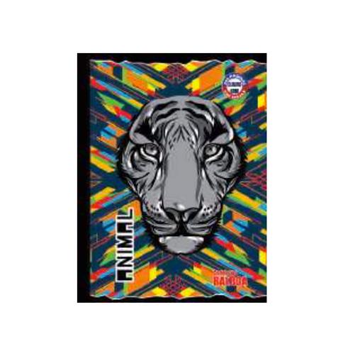 Cuaderno Cosido Colorámico Extra Grande de Cuadros, 200 páginas