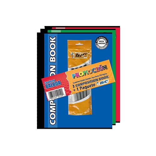 Promoción Composition Cosidos + BIC