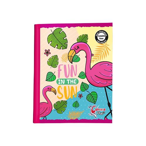 Cuaderno Corsario Plus 200 páginas Doble Raya- Niña