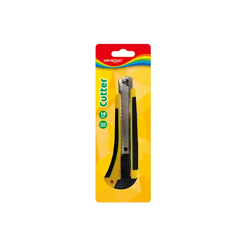 Cutter / Exacto con refuerzo de 18mm