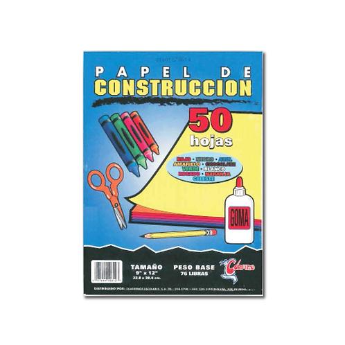 """Papel Construcción 9"""" x 12"""""""