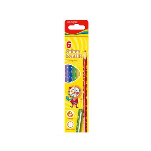 Lápices de colores- 6 colores