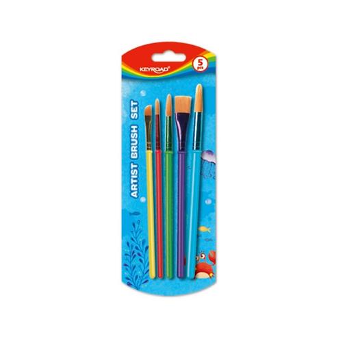 Pinceles: Artist Brush Set x 5 Unidades