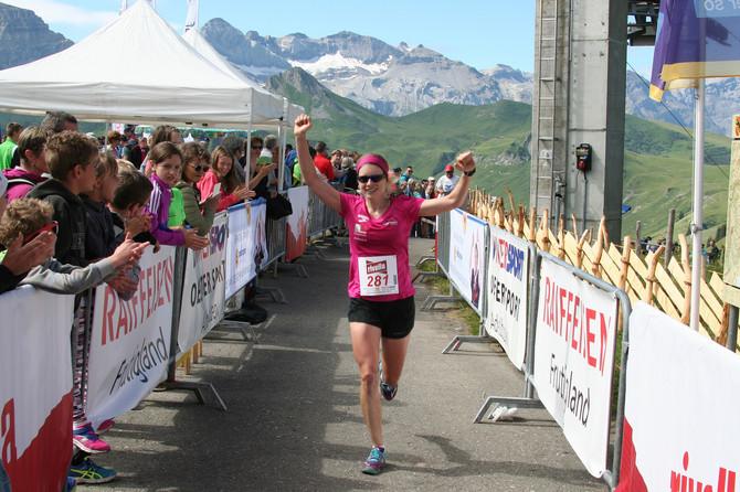 Sieg am Vogellisi Berglauf Adelboden