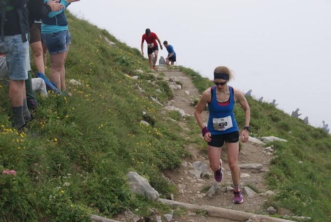 1. am Stockhornhalbmarathon und 2. am Vogellisiberglauf