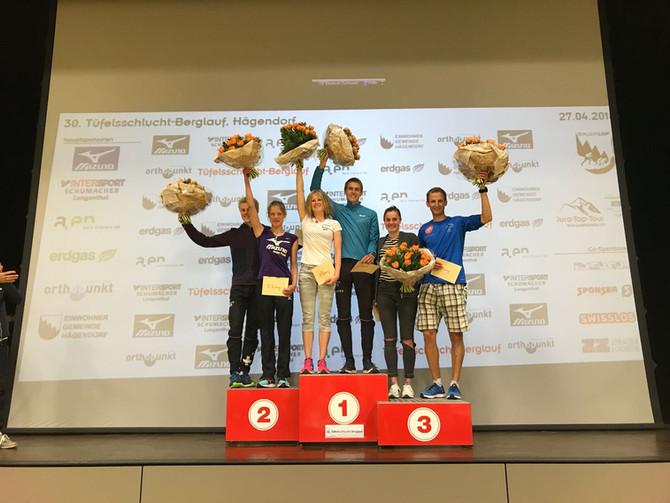 COMEBACK und SIEG am Tüfelsschluchtberglauf (Kantonalmeisterschaft)