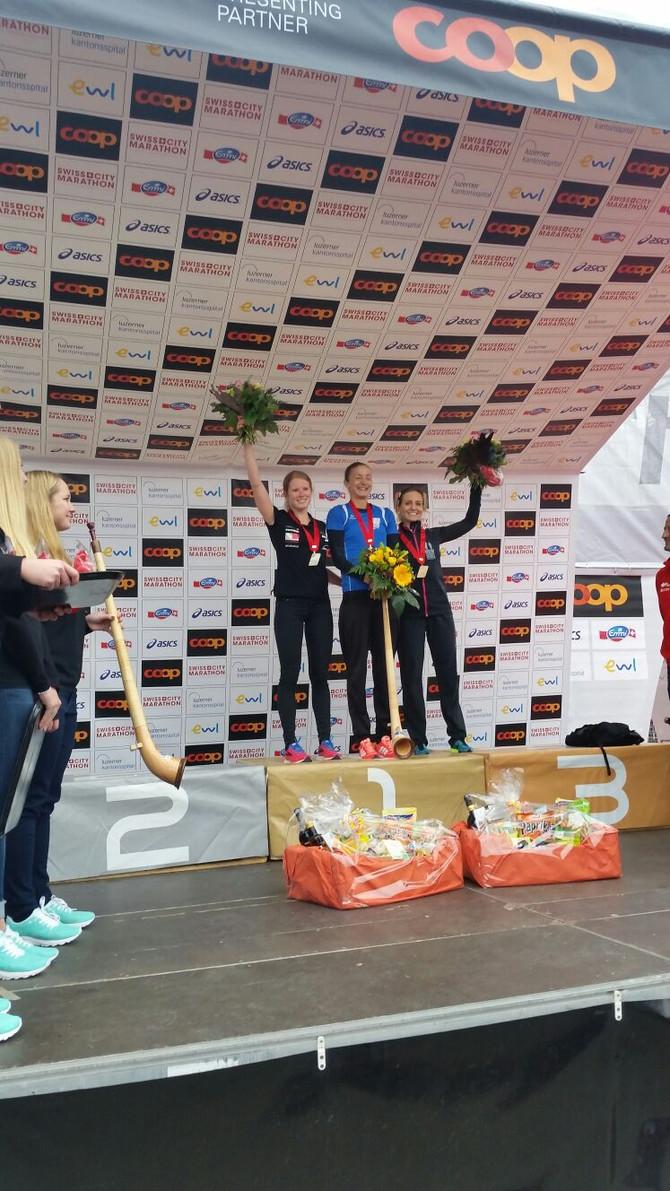2. Rang Schweizer Meisterschaften im Marathon