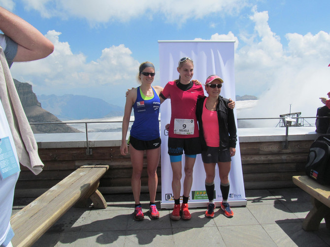 2. Platz am Glacier3000Run