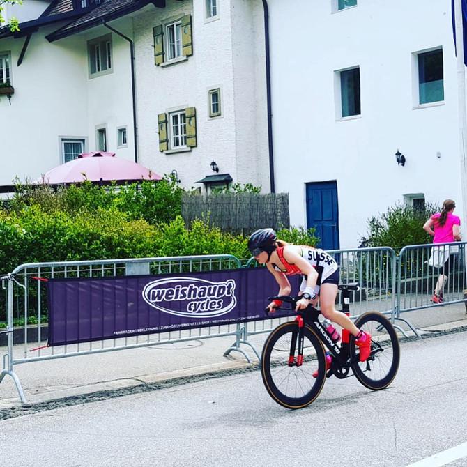 Vize-Schweizermeisterin Kurzdistanz-Duathlon