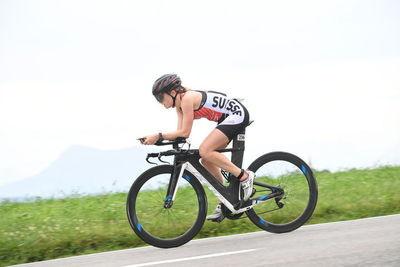 Duathletin auf Abwegen: Sempachersee-Triathlon